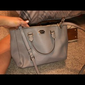 grey michael kors bag *authentic*